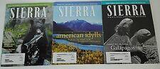 3 Sierra Club magazines Mar/Apr 2005, Sept/Oct 2005, Jan/Feb 2006 Explore, Enjoy