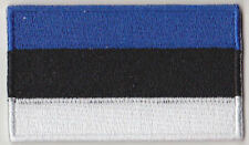 Estonia Country Flag Embroidered Patch T4