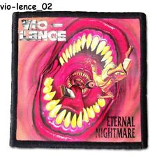 VIO-LENCE  Patch 4x4 inches (10x10 cm) new