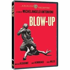 Blow Up - DVD - 1966 David Hemmings, Vanessa Redgrave, Sarah Miles (MOD DVD-R)