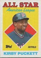 Kirby Puckett All Star AL 1988 Topps Baseball Card #391 Minnesota Twins