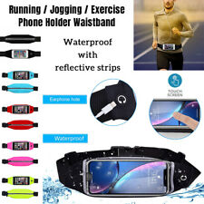 Gym Running Exercise Workout Adjustable WAIST BAND Bag Pouch Case For ALL Phones