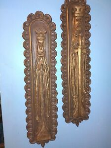 King And Queen Burwood Wall Hanging Mid Century Rare
