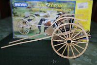 Breyer Fine Harness Meadowbrook Cart #2034 Traditional Wood