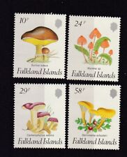 Falkland Islands MNH Stamp Set 1987 FUNGI SG 547-550