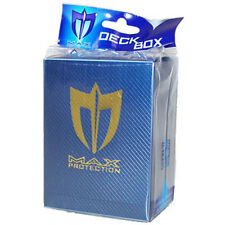 Trading Card Supplies - Max Protection Deck Armor Box - METALLIC BLUE - New