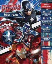 Disney Character Captain America Civil War Busy Pack Children Kid's Fun Activity
