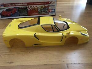 Tamiya 1/10 Ferrari Enzo Body + Box