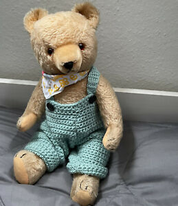 Großer alter Hermann Teddybär guter Zustand