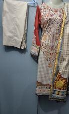 New Original Khaadi  Lawn Pakistani Dress( Shalwar Kameez