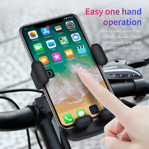 360° Motorcycle Bike Bicycle Handlebar Mount Holder for Universal Cell Phone GPS