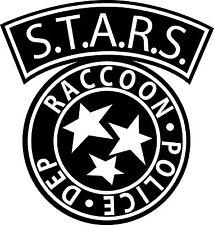 Sticker Resident Evil Racoon Police - 57x60 cm