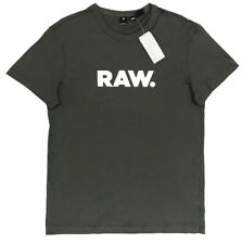 Men's G-STAR / G RAW Gray Crew Neck T-Shirt Tee Shirt XL X-Large NWT NEW Nice!