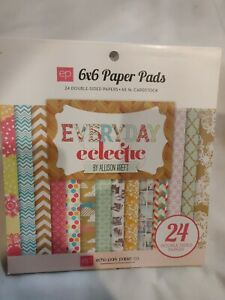 "ECHO PARK ""EVERYDAY ECLECTIC"" 6X6 PAPER PAD FAMILY SCRAPJACK'S PLACE"