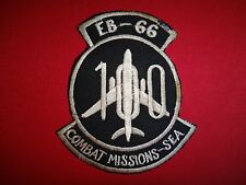 """Vietnam War Patch US Air Force EB-66 """"100 COMBAT MISSIONS In Southeast Asia"""""""