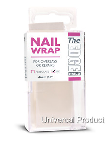"The Edge Nail Wrap Silk Overlays Repairs 46cm 18"""