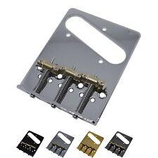 Gotoh Modern Telecaster Bridge with Compensated Brass Saddles
