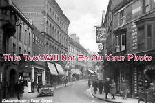 WO 146 - Vicar Street, Kidderminster, Worcestershire c1929 - 6x4 Photo