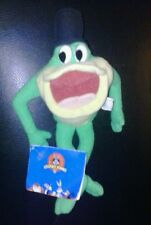 """Looney Tunes - Michigan J. Frog Beanbag Plush 9"""" NEW WITH TAGS SUPER COOL 1998"""