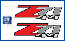 set of 2: 2011 Silverado Z71 4x4 decals - F - 1500 2500 GM stickers Chevy bed