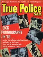 ORIGINAL Vintage June 1969 True Police Cases Magazine GGA