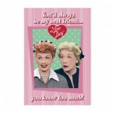 I Love Lucy You'll always be my best friend Tin Sign