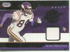 2002 RANDY MOSS PACIFIC HEADS UPDATE PATCH 341/350