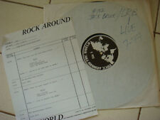 Hard to find JACK BRUCE LIVE - Rock Around The World Live July 1977 with call LP