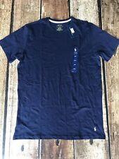 Polo Ralph Lauren Crew Lounge T-Shirt Navy Blue Mens Large New