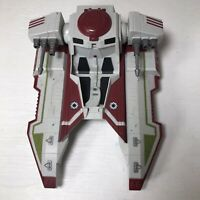 Star Wars Hasbro Clone Wars Republic Fighter Tank 2010 As Is Untested Incomplete