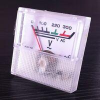 Analog Voltage Panel Meter AC 0-300V voltmeter Guage 1pcs
