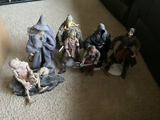 Lord of the Rings action figures with Fellbeast
