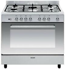 piano de cuisson mixte 104l 5 feux inox - glem