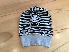 Handmade Babymütze Beanie Mütze Jersey  NEU KU.34-36