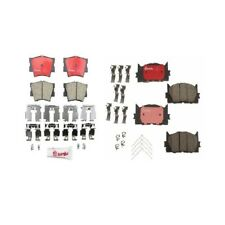 Front And Rear Disc Brake Pads Kit Brembo Fits: Toyota Camry Avalon Lexus ES350
