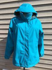 L L Bean Women's Gore-Tex Rain CoatJacket StowAway Blue Packable Sz XL Windproof