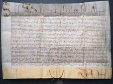 PAPSTBULLE BLEISIEGEL PAPST SIXTUS V. ROM IMMOBILIENANGELEGENHEIT IM 16. JH.1587