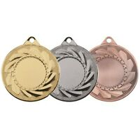 Cyclone Storm Medal with Ribbon, Centre and Engraving - Gold, Silver & Bronze