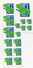 Battletech 1/60th scale Clan and IS Insignia decals- Clan Jade Falcon