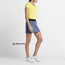 Nike Converge Seamless Women's Golf Skort Skirt XS Blue Gym Training New