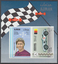 Ajman 1965 ** Bl.97 Rennfahrer race driver Fangio Manama Rennwagen racing car