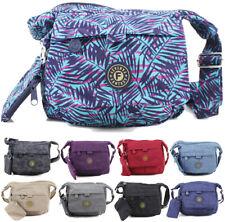 Ladies Waterproof Cross Over Small Bags Womens Shoulder Handbags Travel Day Bag