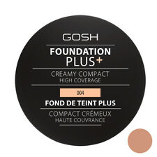 GOSH Foundation Plus Creamy Compact High Coverage Shade 004 Natural