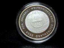 """Silbermünze 925er: BRD 10 Euro 2006 """"FIFA Fußball WM 2006"""" PP"""
