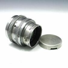 Vintage Kodak Ektar 50mm f1.9 Ektra Camera Lens w/ Cap for Parts / Repair
