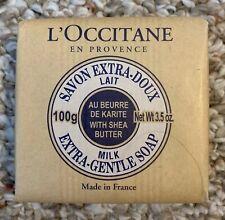 L'OCCITANE Shea Butter Extra Gentle Milk Soap 3.5oz - 100g PURE VEGETABLE SOAP