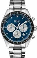 BRAND NEW HUGO BOSS BLUE DIAL STAINLESS STEEL CHRONOGRAPH MENS WATCH HB1513630