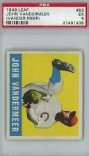 1948 Leaf Baseball #53 Johnny Vander Meer PSA 5 (EX) *1935