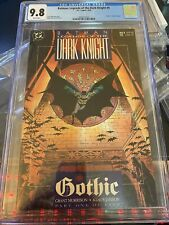 BATMAN: LEGENDS OF THE DARK KNIGHT #6 CGC 9.8 WHITE PAGES GOTHIC STORY LINE 4/90
