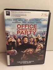 Office Christmas Party (DVD, 2017) Ex-Library Jason Bateman Olivia Munn